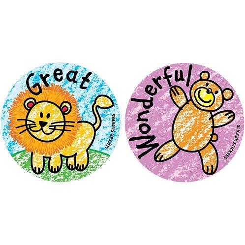 Great, Wonderful Animal Stickers  (151)