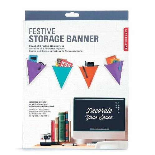 Festive Colourful Storage Banner