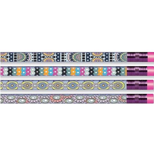 12pk Fashion & Style Pencils  (52245)