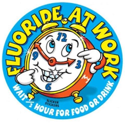 Fluoride at Work Stickers  (18)