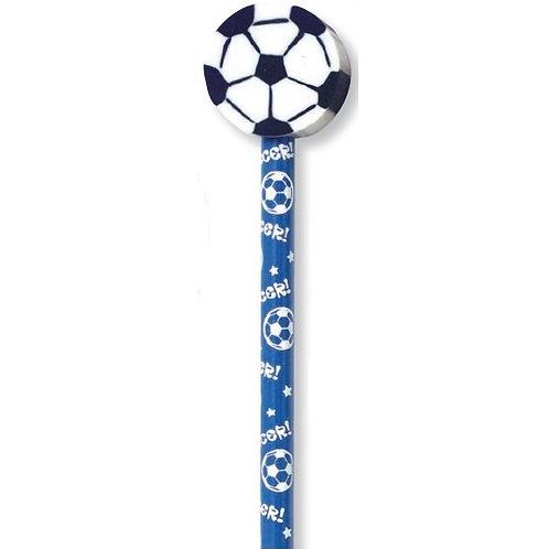 Soccer Ball Pencil with Eraser  (52964)