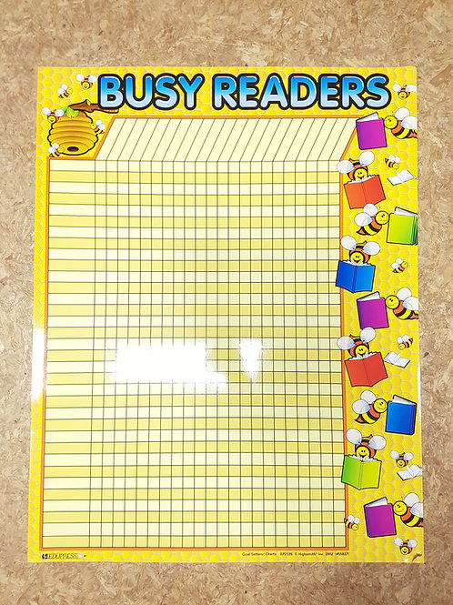 Busy Bee Readers Poster Chart  (55837)