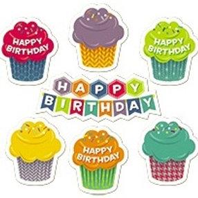 HexaFun Happy Birthday Stickers  (4383)