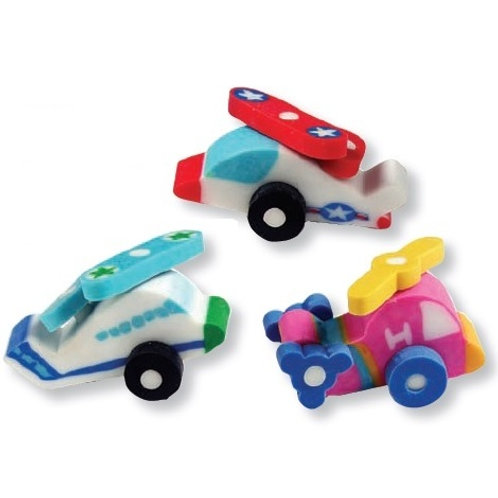 3D Fun Flyers Eraser  (53001)