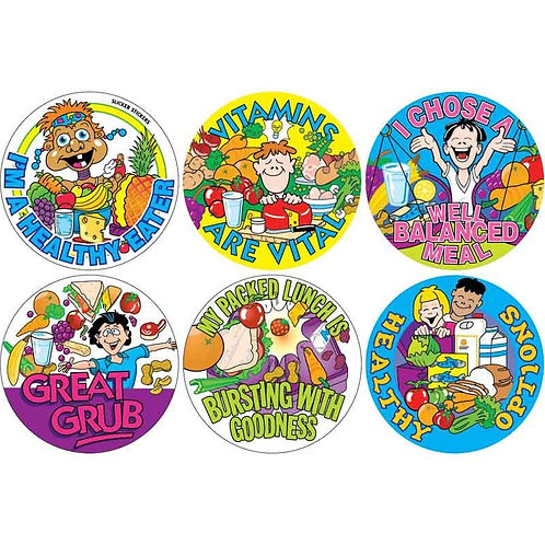 Healthy Eater Multi Pack Stickers  (308)
