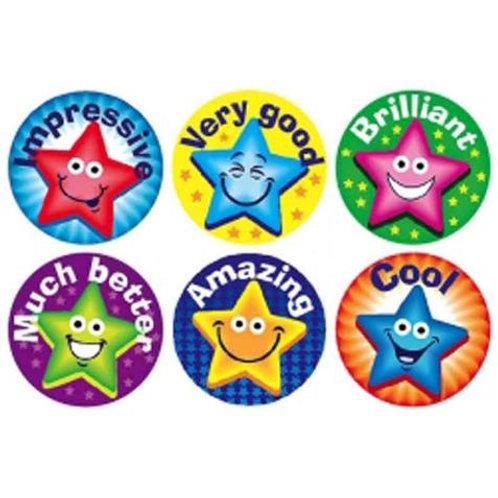 Impressive Stars Multi Pack Stickers  (256)