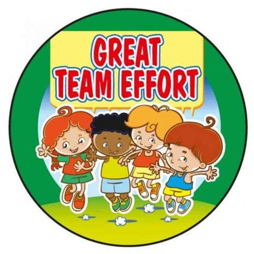 Great Team Effort Stickers  (281)