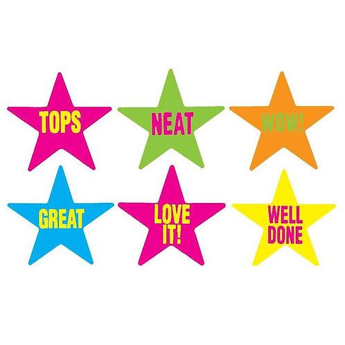 Caption Stars Multi Pack Stickers  (343)