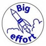 Big Effort Rocket Stamp  (ST216)