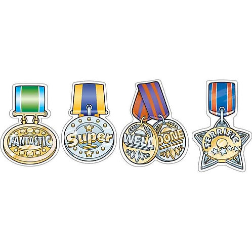Medal Metallic Multi Pack Stickers  (266)