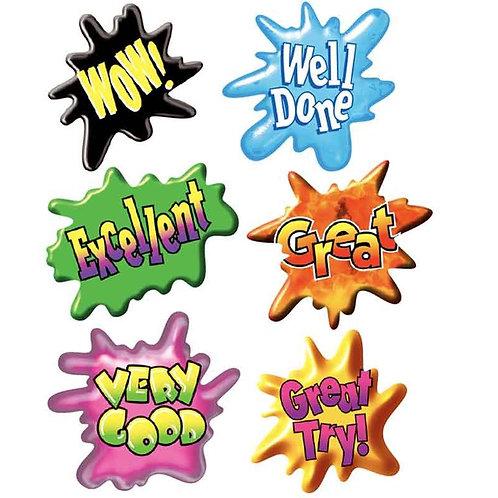 Splash Multi Pack Stickers  (660)