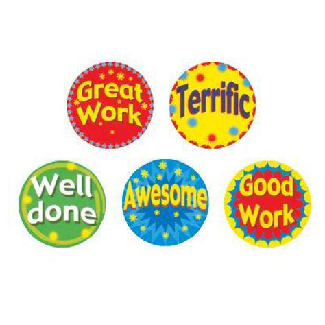 Great Work/Terrific Multi Pack Stickers  (257)