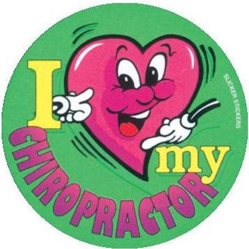 I love my Chiropractor Stickers  (44)