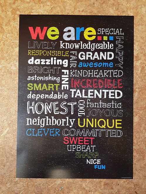 We are... Poster  (6684)