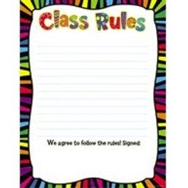 Poppin' Patterns Class Rules Chart  (6422)