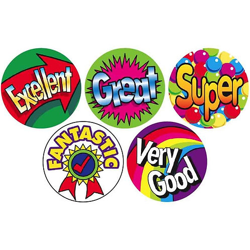 Excellent/Fantastic Multi Pack Stickers  (259)