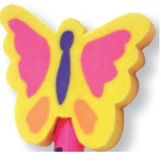 Butterfly Topper Eraser  (52982)