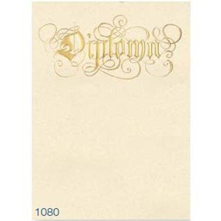 A4 Diploma Testa'mur with Gold Foil  (1080)