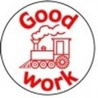 Good Work Train Stamp  (ST241)