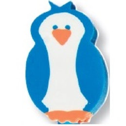 Penguin Topper Eraser  (53016)