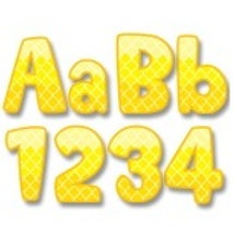 Yellow Moroccan Classroom Letters  (0282)