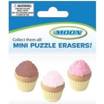 Mini Cupcake Sweet Treats Erasers  (52427)