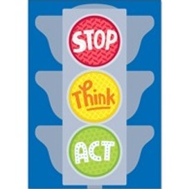 Stop Think Act Poster  (0317)