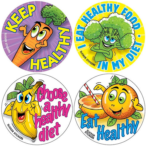 Healthy Diet Multi Pack Stickers  (309)