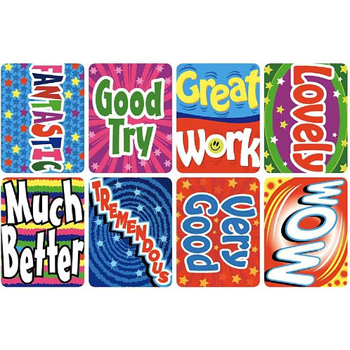 Fantastic Good Try Multi Pack Stickers  (367)