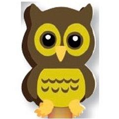 Owl Topper Eraser  (53036)