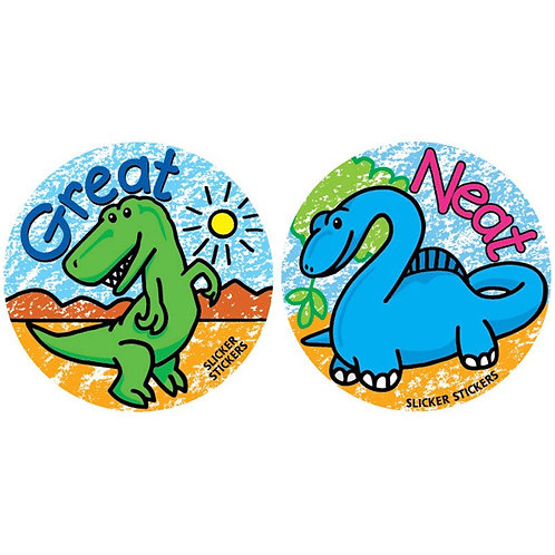 Great, Neat Dinosaur Stickers  (153)