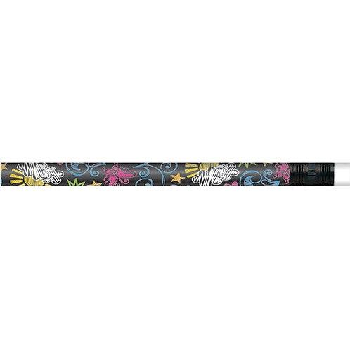 12pk Chalkboard Art Pencils  (52237)