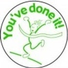 You've done it Running Stamp  (ST282)