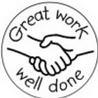 Great Work Well Done Stamp  (ST205)