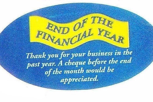 End of Financial Year Stickers  (106)