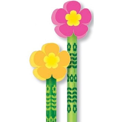Flower Pencil with Eraser  (53035)
