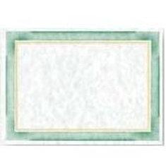 Green Foil & Ink Border Testa'mur  (FI403)