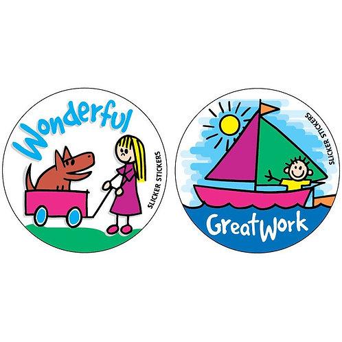 Great Work Wonderful Stickers  (157)