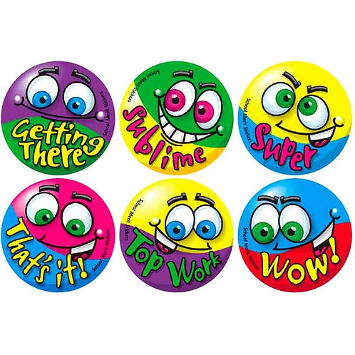 Top Work Face Multi Pack Stickers  (376)