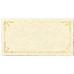 Sheet of 3 Certificates Testa'mur with Gold Foil  (3207)