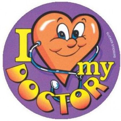 I love my Doctor Stickers  (43)