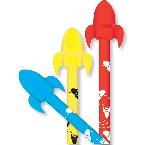 Rocket Pencil with 3D Eraser  (53032)