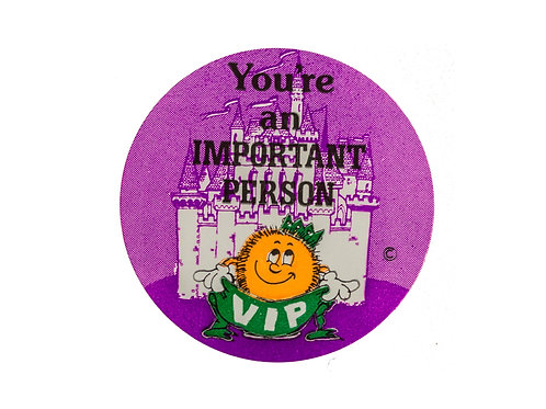 You're an Important Person Stickers  (F19)