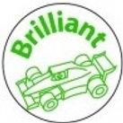 Brilliant Racing Car Stamp  (ST219)