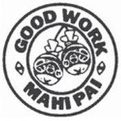 Good Work Mahi Pai Maori Stamp  (12934)
