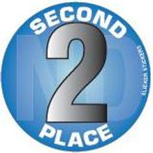 Second Place Stickers  (641)