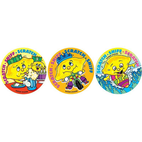 Scratch & Sniff Lemon Multi Pack Stickers  (951)