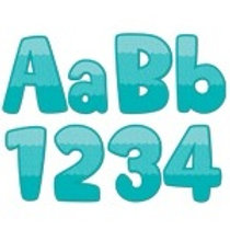 Turquoise Maze Classroom Letters  (0284)