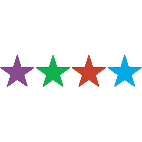 Mixed Colour Pack Metallic Stars  (340)