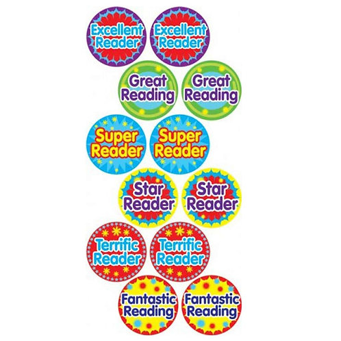 Reading Stickers Multipack  (528)